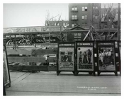 Billboards along 138th Street - South Bronx NYC 1914