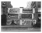 Billboards in Midtown - Manhattan - 1915