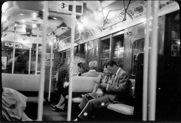 """BMT """"Standard"""" car waits its time at Union Square on the BMT Broadway Line, c.1960"""