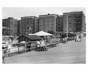 Boardwalk at Brighton Beach  Brooklyn NY 1956