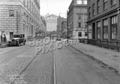 Boerum Place looking north to Livingston Street, 1928