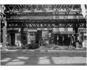 Bowery - between Houston & Stanton Street 1915