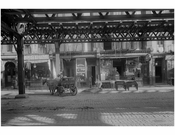 Bowery - between Stanton & Rivington Streets  1915