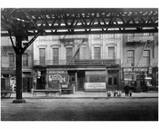 Bowery - east side - 1st & Houston Street 1915