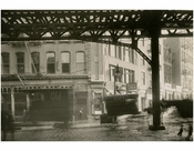 Bowery - east side - at Canal Street 1915