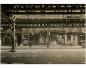 Bowery - East Side - between 2nd & 3rd Streets Nov 1915