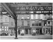 Bowery - east side - between 3rd & 4th Streets.  1915