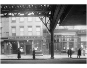 Bowery - east side - between Broome & Grand Streets 1916