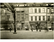 Bowery - east side - between Rivington & Delancey Street January 1916