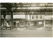 Bowery - east side - between Rivington & Delancey Street November 1915