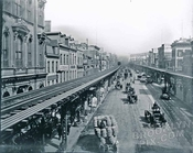 Bowery, north from Grand Street, 1890