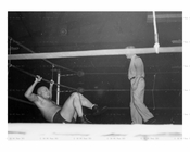 Boxing match at Ridgewood Grove - St. Nichols Ave 1946 - Ridgewood - Queens, NY