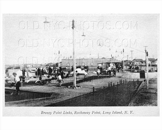 Breezy Point Rockaway Point Mini Golf LI 1935
