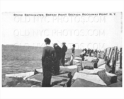 Breezy Point Rockaway Point Stone Breakwater 1930