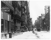 Broadway  1912 - Tribeca Downtown Manhattan NYC