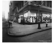 Broadway & 26th Street - Flatiron District  NY 1915