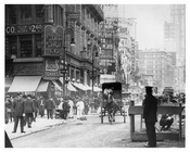 Broadway & 34th Street - Midtown Manhattan - NY 1914