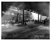 Broadway & 34th Street under the elevated train tracks - Midtown Manhattan - NY 1914