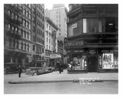 Broadway & 43rd Street - Theater District - Midtown Manhattan 1915