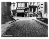 Broadway & Catherine Lane 1912 - Tribeca Manhattan NYC