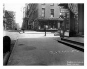 Broadway & Duane Street  1912 - Tribeca Manhattan NYC