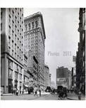 Broadway looking north facing 21st Street - Flatiron District - Downtown Manhattan 1926 NYC
