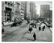 Broadway & Mail Street 1912 - Financial District Downtown Manhattan NYC
