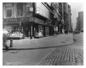 Broadway & Murray  Street 1912 - Tribeca Manhattan NYC