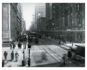Broadway  & Reade Street 1913 - Tribeca Downtown Manhattan NYC