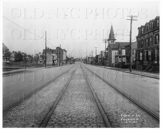 31st Street at 30th Drive 1913
