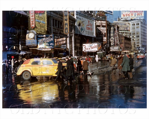 Times Square Taxi 1944