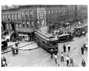 Nostrand and Putman Bedstuy Trolley Crash 1931