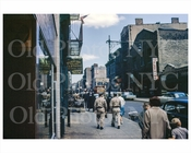 Elizabeth St looking north Belikoff Bros Wholesale Clothing 1963