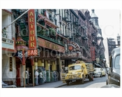 Mott Street looking north 1953