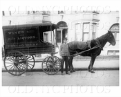Edward Rieke Wines & Liquors wagon Bedford Ave & Rutledge St