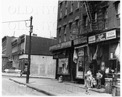 Lee Ave north to Lynch St with children 1944