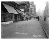 Broadway shops - Midtown Manhattan - NY 1914