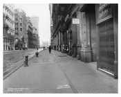 Broadway street view Midtown Manhattan  NY 1913