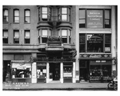 Broadway  street view of shops  - Midtown Manhattan - 1915