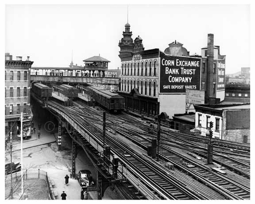 Broadway to Myrtle Subway in Bushwick - 1947