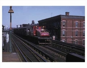 Broadway Train Bushwick Brooklyn NY