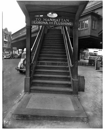 Broadway Train Entrance