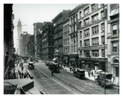 Broadway  & White street 1912 - Tribeca Downtown Manhattan NYC