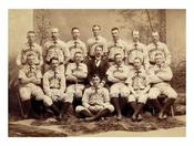 Brooklyn Bridegrooms Baseball Club - American Association Champions 1889