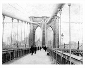 Brooklyn Bridge 1890