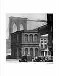 Brooklyn Bridge From Front Street DUMBO 1946
