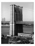 Brooklyn Bridge - looking at the northeast tower 1982