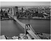 Brooklyn Bridge - view looking towards Manhattan 1978