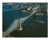 Brooklyn Bridge - view lookingeast toward brooklyn - 1978