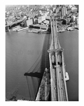 Brooklyn Bridge -  view towards Brooklyn - 1982